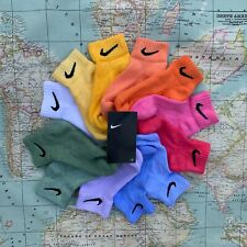 All Sizes & Colours Available FORÉT x Nike Tie Dye Block Colour ANKLE Socks