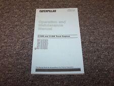 Caterpillar Cat 3126B 3126E Truck Engine Owner Operator Maintenance Manual Guide