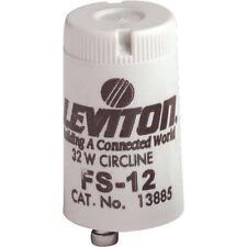 100 Pk Leviton 32W 2-Pin Circline FS-12 Fluorescent Light Starter 001-13885-000