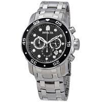 Invicta Men's Pro Diver Quartz Chronograph Black Dial Watch 0069