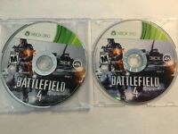 Battlefield 4 - Microsoft Xbox 360 Video Game 2013 - Discs Only - Tested