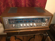 KENWOOD MODEL 11 AM-FM STEREO RECEIVER SILVERFACE VINTAGE 1970'S RARE-WORKS