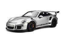 GT Spirit 2016 Porsche 911 (991) GT3 RS Silver GT705 1:12 LARGE CAR*New Item*