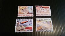 PAPUA NEW GUINEA  1985 SG 507-510 CENT OF POST OFFICE  MNH