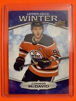 2018 Upper Winter #W-4 Connor McDavid Edmonton Oilers Unscratched Bounty
