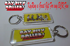 BAYCITY ROLLERS KEY RING IMAGE OF THE BOYS AND LOGO
