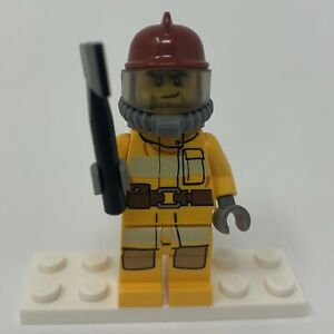 Lego Firefighter Minifigure City Utility Belt Fire Helmet Visor Airtanks cty0287