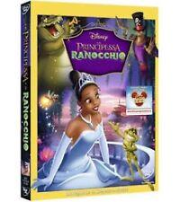 DISNEY DVD La principessa e il ranocchio con slipcover