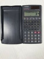 Casio fx-300W S-V.P.A.M. Two Way Power Calculator with Case Cover FREE SHIPPING