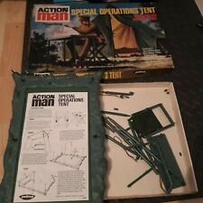 VINTAGE ACTION MAN SPECIAL OPERATIONS TENT, BOXED PALITOY 1970S ORIGINAL