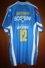 Maglia Shirt Pallavolo Volley Match Worn Simeonov Gabeca Montichiari Bossini