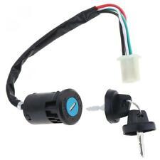 4 Wires 2 Ignition Keys Start Switch Door Lock Key Motorcycle Accessories Set