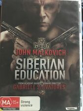Siberian Education (DVD, 2014) John Malkovich - Free Post!