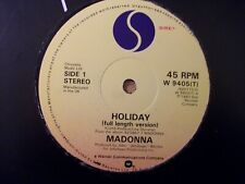 Madonna - Holiday - 12 inch original Vinyl Single + FREE 12 INCH SINGLE
