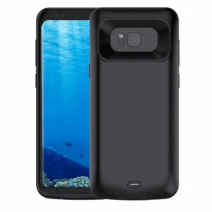 For Samsung Galaxy S8+ Plus  Battery Charging Case Cover Backup Power