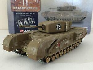 Corgi CC60101 Churchill Mark III 1st Canadian Army Tank Brigade 1942 NIB!