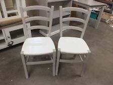 X1 PAINTED LIEGE CHAIR CHOICE OF COLOURS FARROW & BALL DOVE TALE / PAINTED SEAT