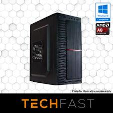 AMD A8 7650K 120GB SSD 8GB DDR3 Computer Desktop PC
