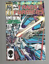 TRANSFORMERS #4 1985 Marvel Comic NM 9.4