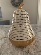 Fall Thanksgiving Decor: Ceramic Porcelain Gourd Mint Condition!