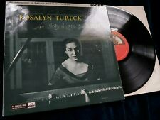 An Introduction To Bach - Rosalyn Tureck  HMV ALP 1747 r/g ED1  1N lp NM-