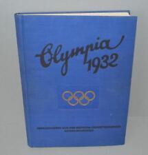 Chronicle a los Juegos Olímpicos Los Angeles 1932.