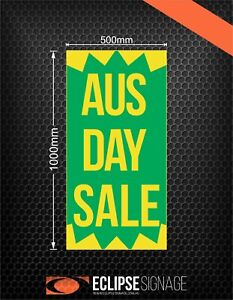 AUS DAY SALE Promotional Poster