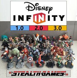 Disney Infinity 1.0, 2.0, 3.0 - Disney Marvel Star Wars - Characters & Playsets