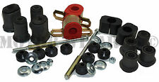 Front End Upper+Lower Control A-Arm+Sway Bar Bushings Kit GM A-Body 68-72 w/oval