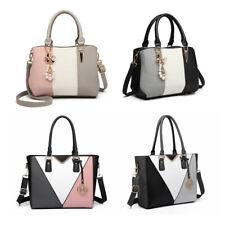Women PU Leather  Shoulder Tote Large Handbag  Ladies Work bags Ladies