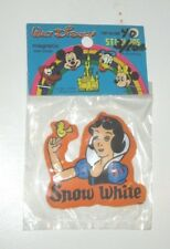 DISNEY VINTAGE 1970'S VINYL PUFFY MAGNET PRINCESS SNOW WHITE  STILL PACKAGED