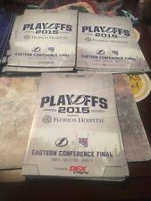 Tampa Bay Lightning VS New York Rangers Game 3,4,6 Programs