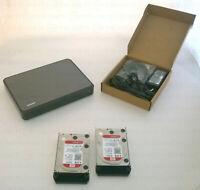 € 442+IVA QNAP HS-251+ NAS 2-Bay 8TB (2x4TB WD40EFRX) 4C 2.0GHz 2xGbE 1xHDMI