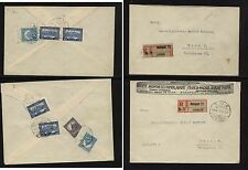 Hungary 2 registered covers a1109-03