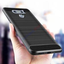 Per LG G6 V30 Q6 PLUS antiurto in Silicone Ibrida Soft TPU Paraurti Custodia Cover