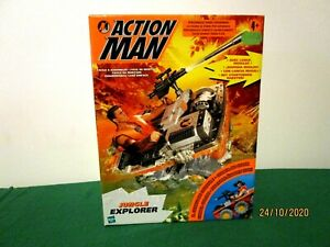 Action Man Jungle Explorer, neuf jamais ouvert