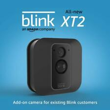 Blink XT2 Add-on Security Camera   Indoor/Outdoor Wi-Fi Wire-Free 1080p Black