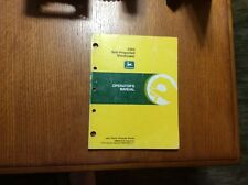 John Deere 2360 Windrower OME81676 Operators Manual book