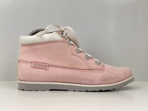 Adidas Seneo Taiga Womens Pink Faux Leather Ankle Boot UK Size 5