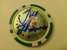 GUS HANSEN World Series of Poker WSOP Signed Autographed POKER CHIP