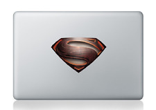 "Superman Man of Steel 3x5"" Laptop Apple Macbook Car Bumper Vinyl Decal Sticker"