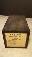 Wurlitzer 125 Military Band Organ Roll 3504 Skaters Waltz