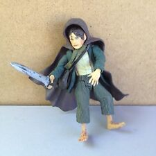 ToyBiz LOTR Fellowship of the Ring Pippin w/ sword Figure loose
