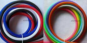 Single Color 2MM-16MM TIGHT Braided PET Expandable Sleeving Cable Wire Sheath
