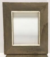 "VTG Aesthetic Barn Wood Mid Century Wood Picture Frame Fits 8""x 10"""