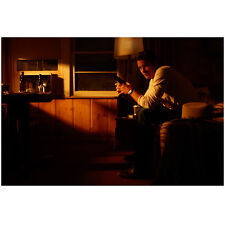 Justified Timothy Olyphant as Raylan Givens Seated on Bed 8 x 10 Inch Photo