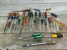 Vintage+35+pc+Lot+Screwdrivers+Stanley+Craftsman+S-K+Tools+Millers+Falls+all+USA