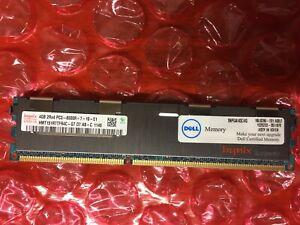 Hynix 4GB 2Rx4 PC3-8500R-7-10-E1 Server Memory Module / HMT151R7TFR4C-G7 D7 AB-C
