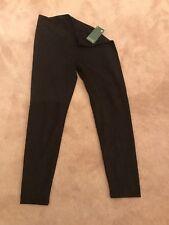 NWT LYSSE XL Black Polyester Leggings Extra Stretch Fit High Original $98.00