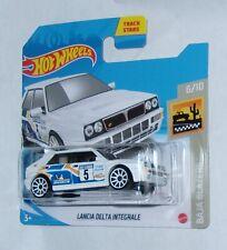 2021 Hot Wheels Lancia Delta Integrale short card White Baja Blazers